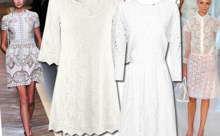 Moda z wybiegów: romantyczne koronki
