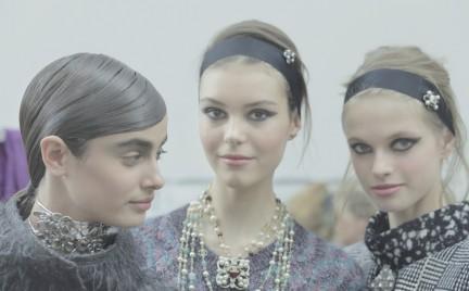 Makijaż z pokazu Chanel
