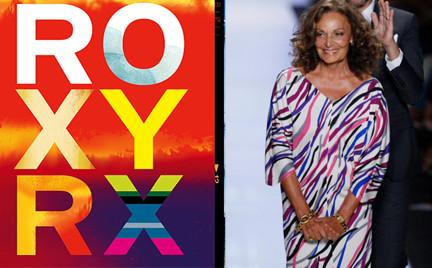 Diane Von Furstenberg kocha Roxy