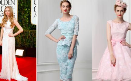 Koronkowe sukienki na wesele lub studniówkę