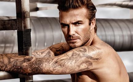 David Beckham dla H M
