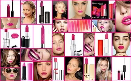 Trend na teraz: szminki w odcieniu fuksji