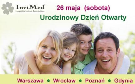 Promocja: bezpłatne konsultacje w klinice Europejskiego Centrum Macierzyństwa InviMed