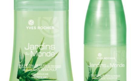Jardins du Monde z aloesem Yves Rocher