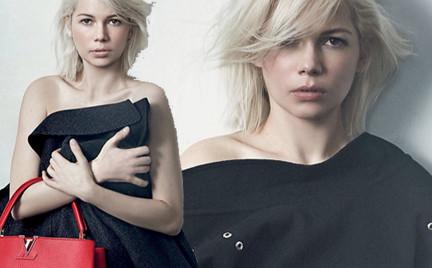 Michelle Williams w czwartej kampanii dla Louis Vuitton