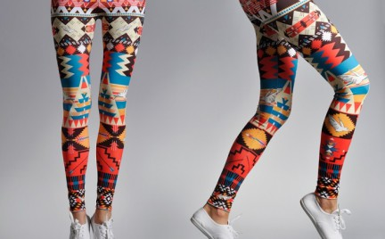 Kupujemy: wzorzyste legginsy