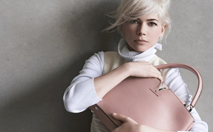 Michelle Williams w trzeciej kampanii Louis Vuitton
