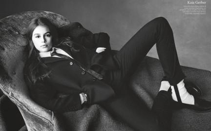 Córka Cindy Crawford dla Vogue Italia