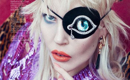 Ola Rudnicka w biżuteryjnej sesji dla niderlandzkiego Vogue a