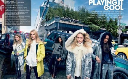 Supermodelki rządzą w amerykańskim Vogue u
