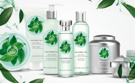 Linia tygodnia: Fuji Green Tea od The Body Shop