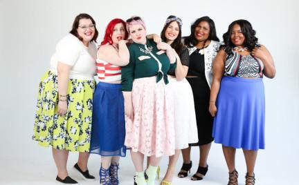 Inspiracje na wiosnę: spódnice midi w rozmiarach plus size