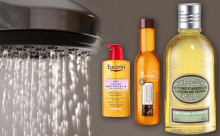 Kosmetyczna agentka: delikatne mycie czyli olejki pod prysznic