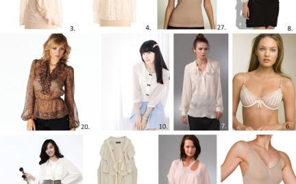 Kupujemy: transparentne bluzki