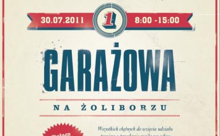 Wyprzedaż garażowa na warszawskim Żoliborzu