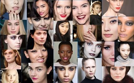 Makijaże z wybiegów: jesień zima 2014 15