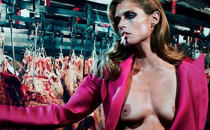 Polska modelka w odważnej sesji dla Interview Magazine