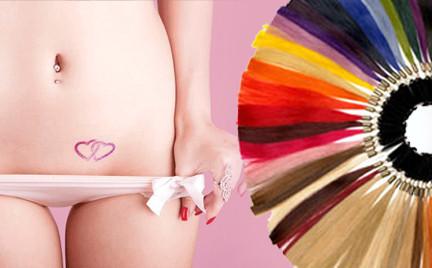 Snobka intymnie: intymna i kolorowa fryzura sylwestrowa