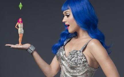 Katy Perry ambasadorką gry The Sims 3 Zostań Gwiazdą