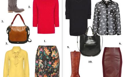 Porada: jak nosić skórzaną spódnicę