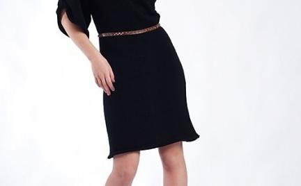 Dzianinowa sukienka MKM