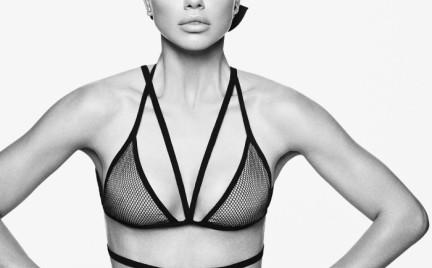 Seksowna czy wyrafinowana: Aniołek Victoria s Secret Adriana Lima w Vogue u
