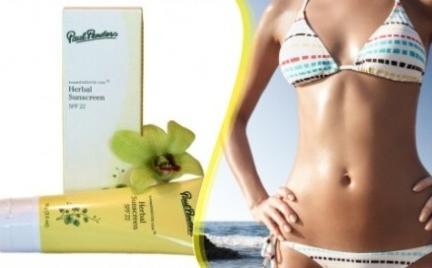 Opalaj się z herbal Sunscreen SPF 22 Paul Penders