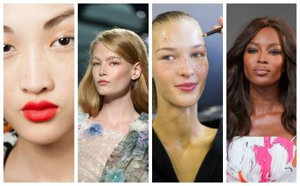 Trendy makijażowe i urodowe z pokazów na wiosnę 2015