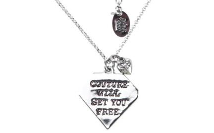 Biżuteria Juicy Couture z przesłaniem