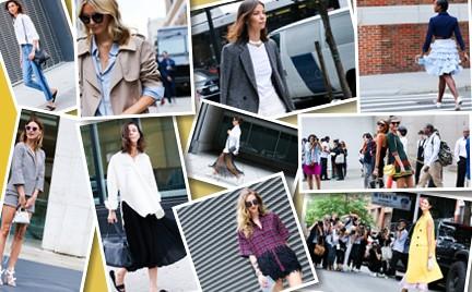 10 najlepszych stylizacji street style z nowojorskiego tygodnia mody