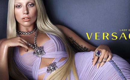 Lady Gaga twarzą Versace. Zobacz pierwsze zdjęcia