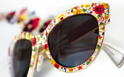 Okulary-mozaiki Dolce Gabbana