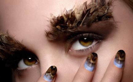 Nowość Ciate: manikiur pierzasty (Feathered Manicure Kit)