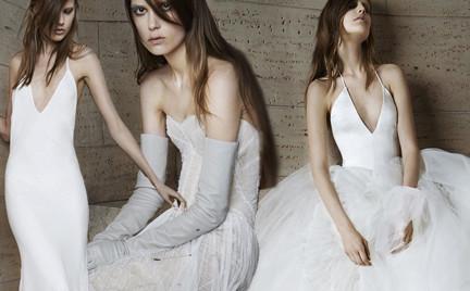 Ślubna kolekcja Vera Wang wiosna 2015