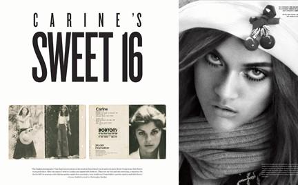 16-letnia Carine Roitfeld w sesji mody