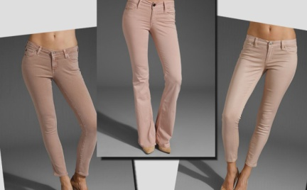 Najmodniejsze cieliste jeansy