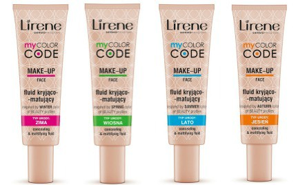 W poszukiwaniu podkładu idealnego: fluidy Lirene My Color Code