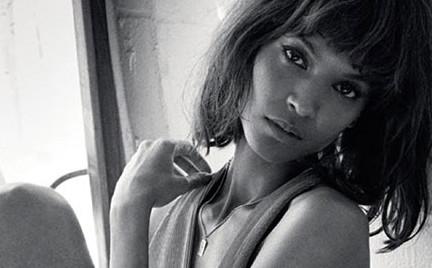 Piękna Liya Kebede we włoskim Vogue