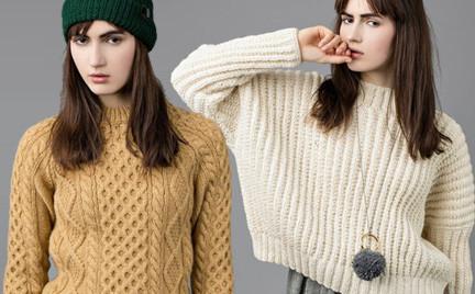 Polska moda: ciepły sweter i czapka czyli Roboty Ręczne na jesień i zimę
