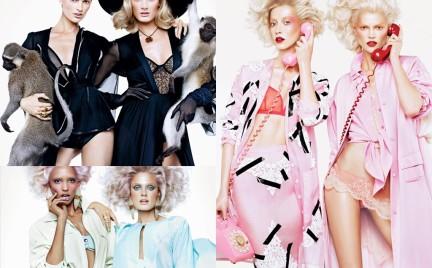 Podwójne uderzenie mody w magazynie V
