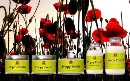 Mak i konopie dla pięknej skóry - kosmetyki Poppy Fresh