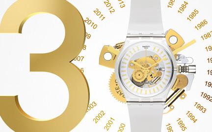 Swatch obchodzi 30. urodziny. Przegląd modeli z 30 lat