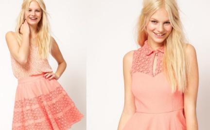 Kobieco: sukienka i spódniczka Asos