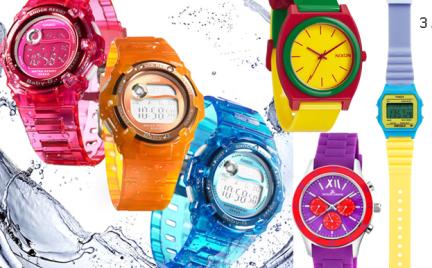 Kupujemy: kolorowy zegarek