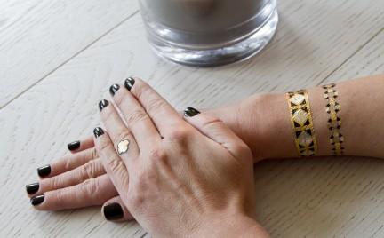 Pomysł nie tylko na sylwestra: naklejane tatuaże