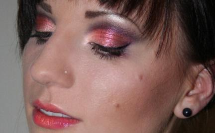 Makijaż 125 - ciepły graficzny
