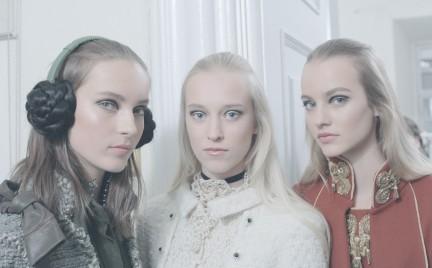 Makijaże z pokazu Chanel Paris-Salzburg M tiers d Art 2014-15