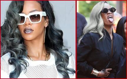 Siwe włosy Rihanny. Hit czy kit