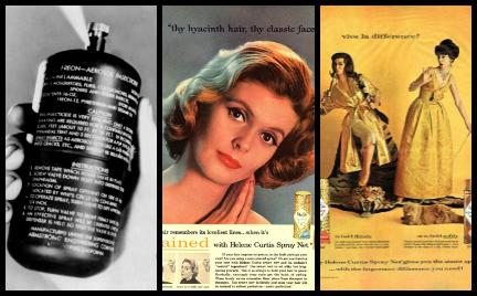 Historia lakieru do włosów. Takie fryzury utrwalał w minionych dekadach
