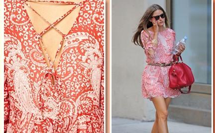W stylu gwiazdy: Olivia Palermo w sukience Asos